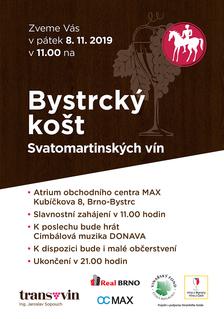 Bystrcký košt Svatomartinských vín
