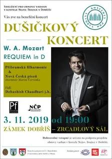 Adventní koncerty v Zrcadlovém sále zámku Dobříš
