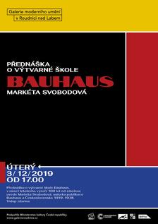 Přednáška o výtvarné škole Bauhaus