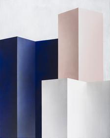 Ira Svobodová v pražské Trafo Gallery s výstavou Paravan