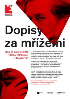 """DOPISY ZA MŘÍŽEMI - Divadlo """"12"""""""