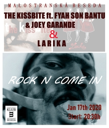 The KissBite ft. Fyah Son Bantu & Joey Garande + Larika v Besedě