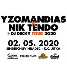 YZOMANDIAS X NIK TENDO/TOUR 2020/
