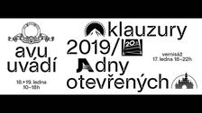 Zimní klauzury AVU / dny otevřených dveří 17. - 19. ledna 2020