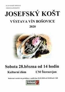 Josefský košt vín