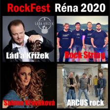 ROCKFEST RÉNA 2020/LÁDA KŘÍŽEK, SABINA KŘOVÁKOVÁ/ROCK STRING, ARCUS ROCK