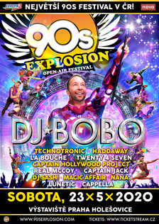 90s Explosion Praha 2020: největší 90s festival ve střední Evropě