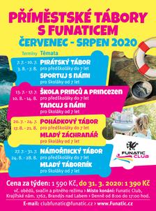 Příměstské tábory s Funaticem Léto - 2020