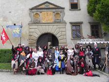Rytíři na hradě - každou letní sobotu a neděli na Starých Hradech