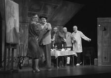 Akt v Žižkovském divadle Járy Cimrmana