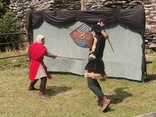 Šermířské rozvernosti na hradě Bezděz