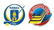 Extraliga 2015/2016: PSG Zlín vs. vs. HC Vítkovice Steel